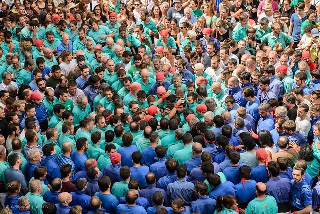 Barcelona - Castells Fiestas de Gr�cia 2015
