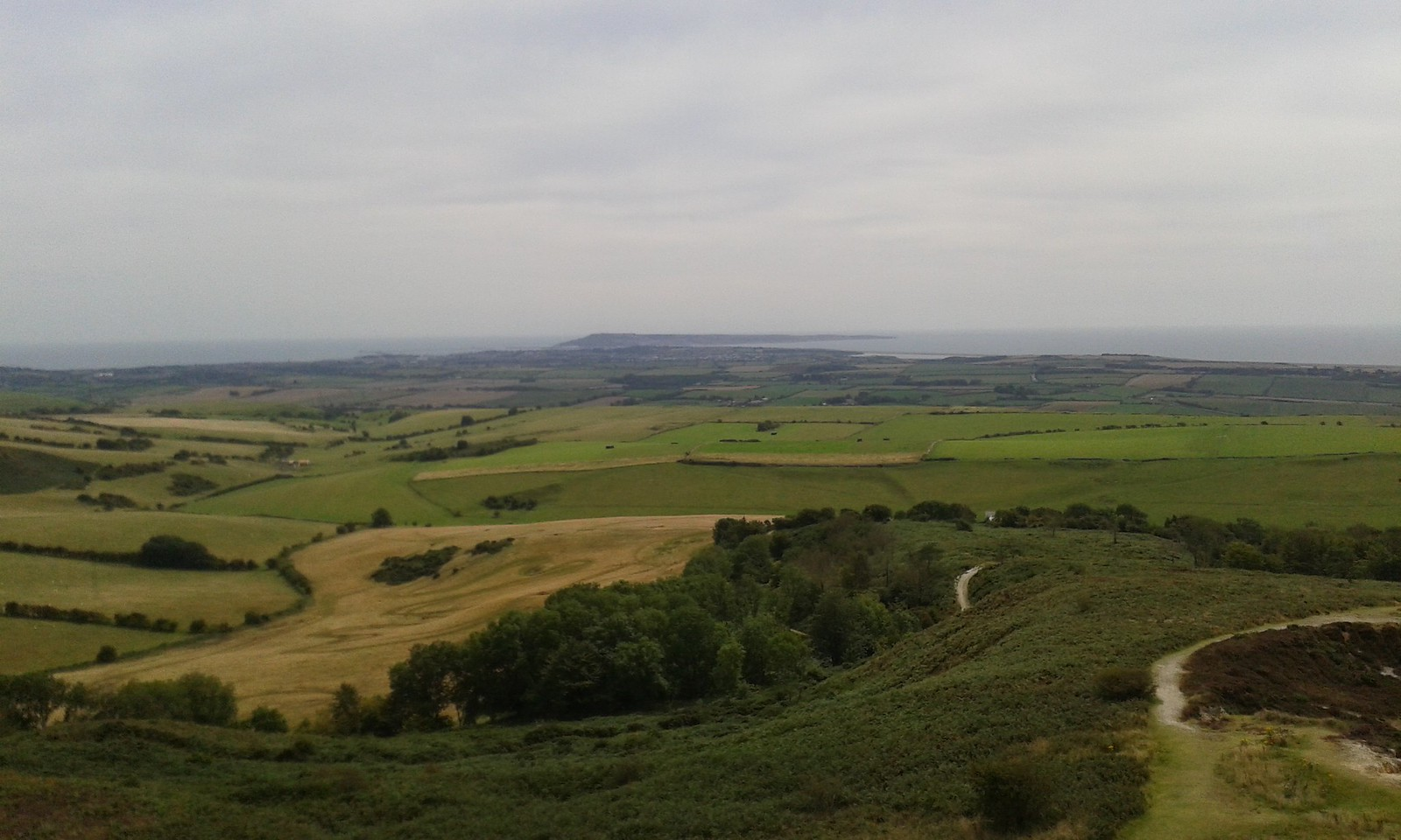 20150816_133057 View from Hardy Monument towards Portland