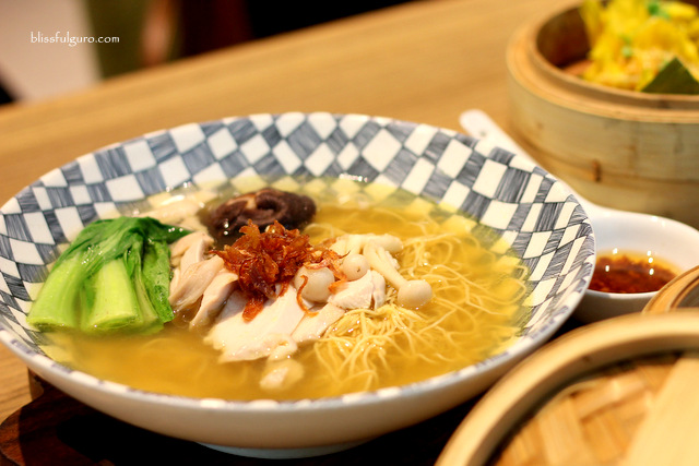 Museum Cafe Makati City Hainan Chicken Noodles