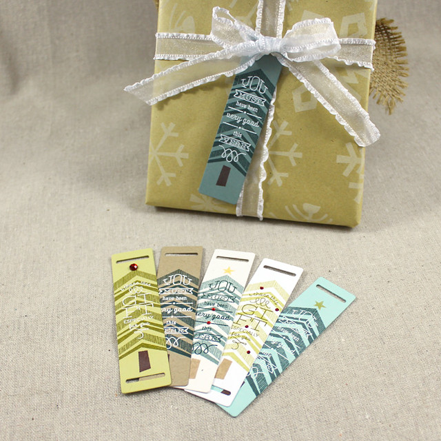 Tree Gift Tag Set