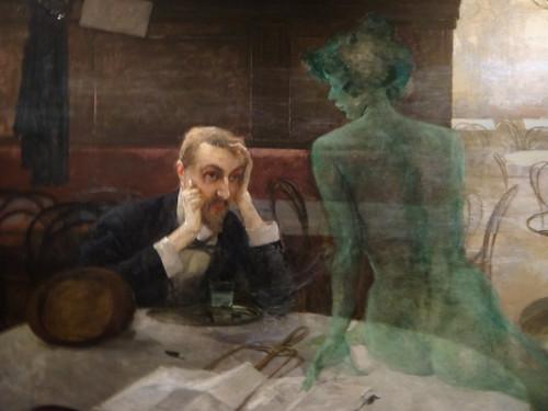 Poet und Muse (Der Absinthtrinker)
