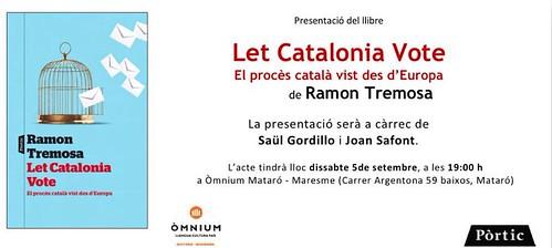 Presentació llibre Ramon Tremosa