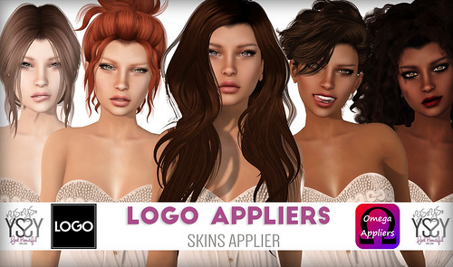 Erika Skin - Applier For LOGO Alex Mesh Head