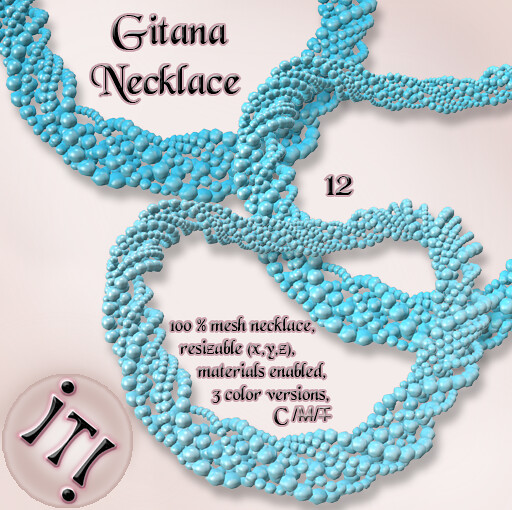 !IT! - Gitana Necklace 12 Image