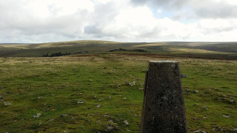Gutter Tor from Gutter Tor trig point #sh
