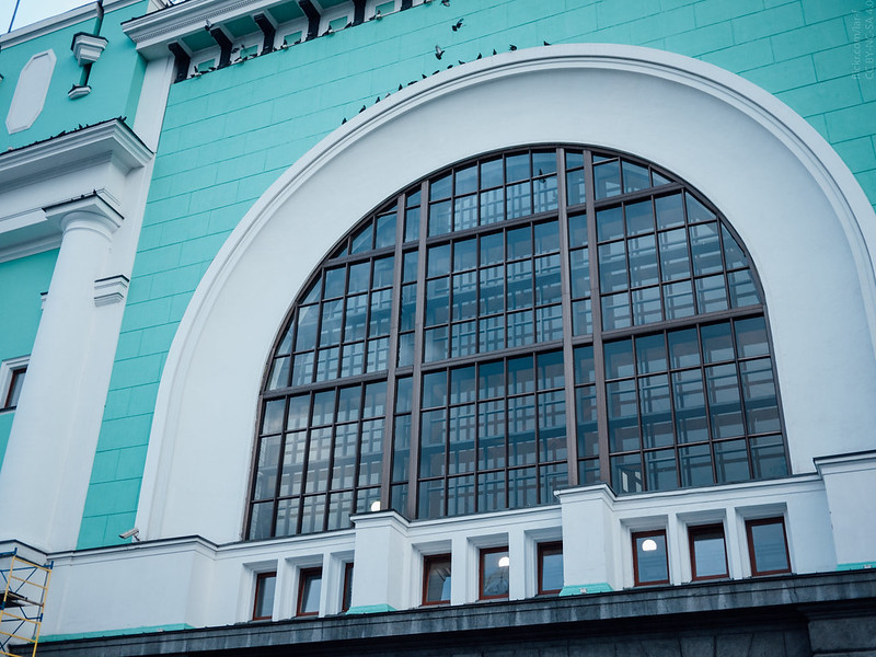 Novosibirsk Main railway station