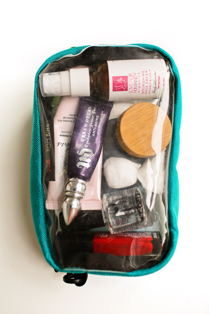 Tom Bihn Bags Reviewed - 3D Clear Organizer Bags for Toiletries.