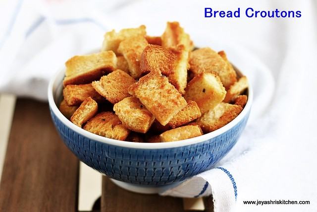 bread -croutons