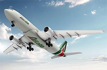 Alitalia A330-200 new livery 2 (Alitalia)