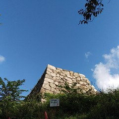 御殿の石垣