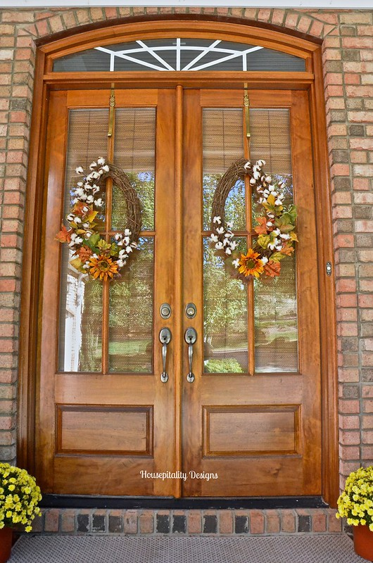 Fall Wreaths - Housepitality Designs