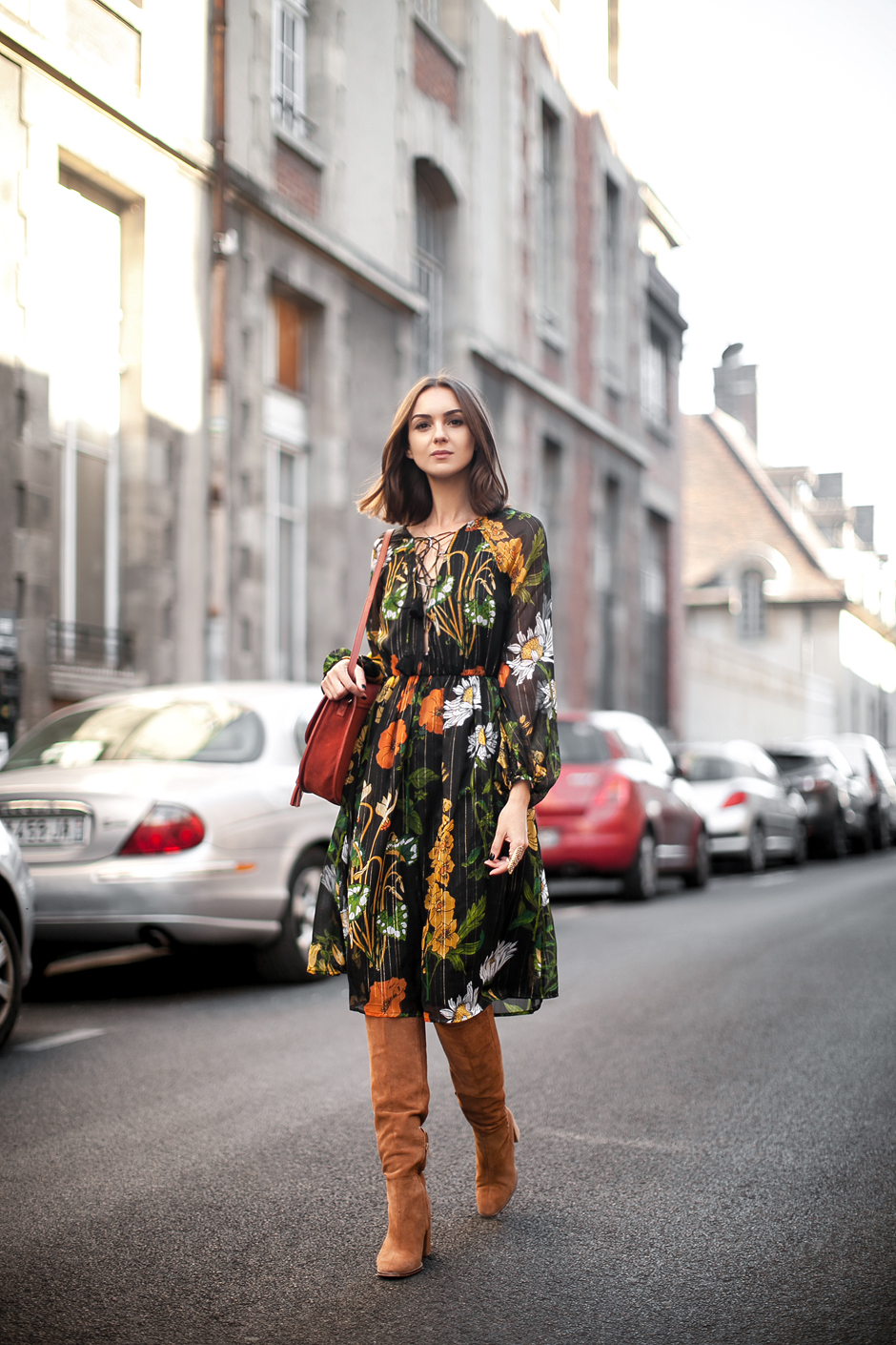 Fashion blog midi dress
