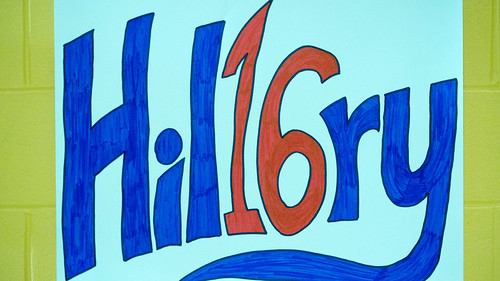 Hil16ry sign