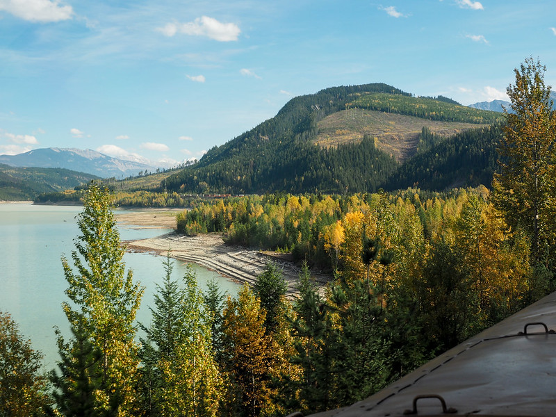Views from the Rocky Mountaineer
