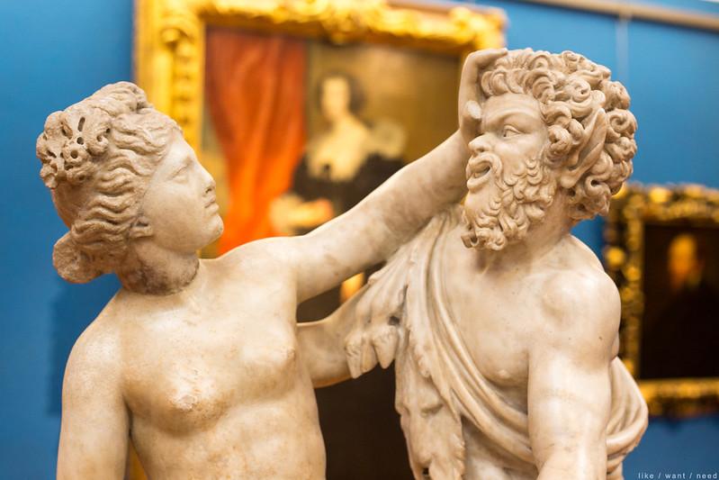 Get back, Uffizi Gallery