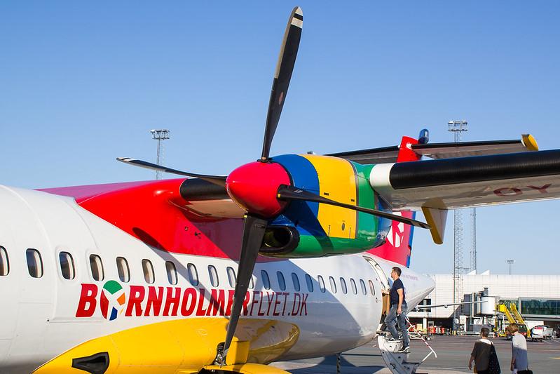 Boarding DAT's ATR 72-200