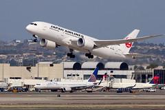 JA821J Japan Airlines Boeing 787-8 Dreamliner