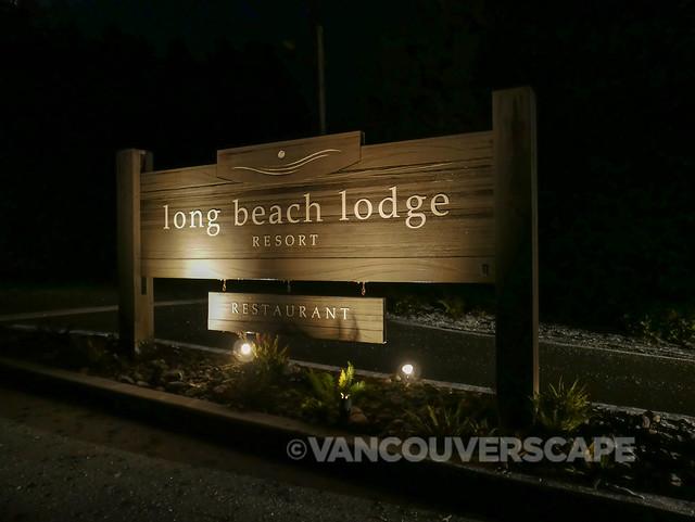 Tofino/Long Beach Lodge entrance