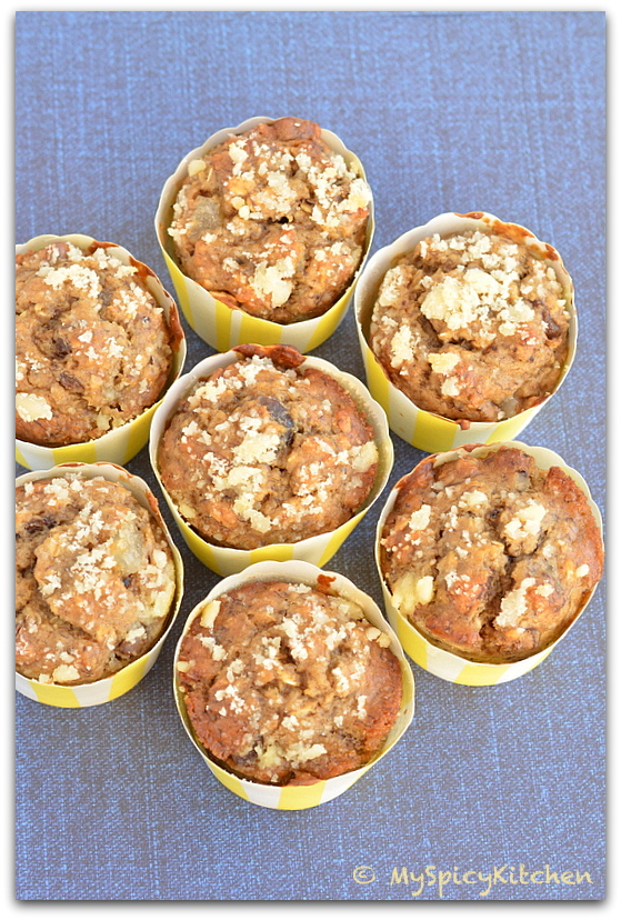 Healthy Muffins, No Nutter No Oil Muffins, Cooking from Cookbook Challenge, CCChallenge, Cooking Light Recipe, Cooking Light Cookbook, Morning Glory Muffins,