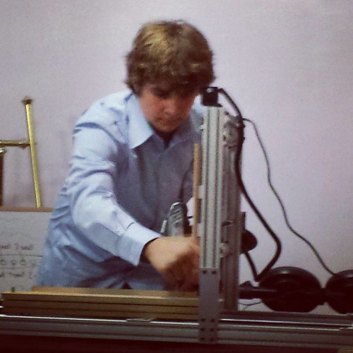 CNC mill demo, 8th-grade project presentation, Sacramento Waldorf School #waldorf #sacramentowaldorfschool