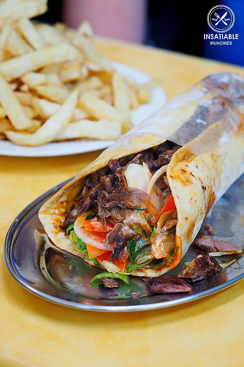 Lamb Gyros, The Yeeros Shop: Sydney Food Blog Review