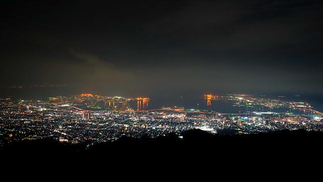 摩耶山夜景 #掬星台