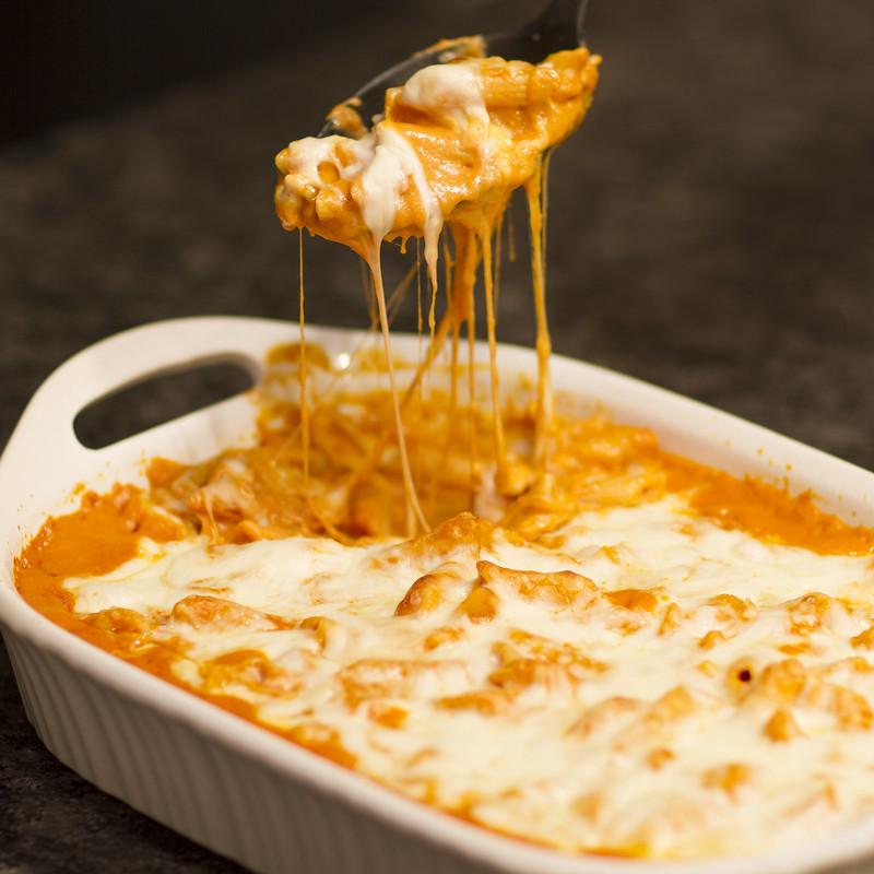 Autumn Klair Copy Cat Olive Garden Baked Cheese Ziti Al Forno With Ragu
