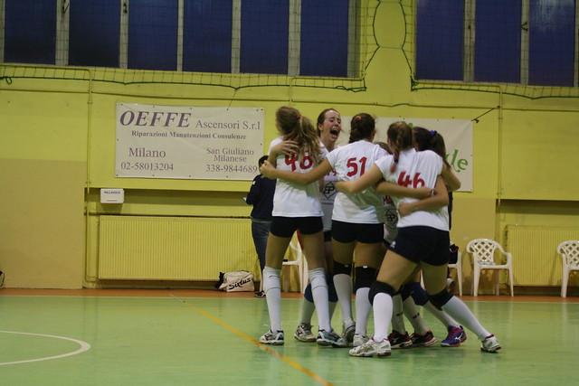 U14 Campionato Fipav - Pol.San Giuliano vs La Rete 1 : 3