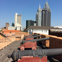 Fort Conde Cannons & Skyline