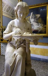 תמונה של Galleria di Arte Moderna. italianart milan galleriadartemoderna giovannispertini mosèbianchi fanciullaintentaascrivere cleopatra youngwoman girl
