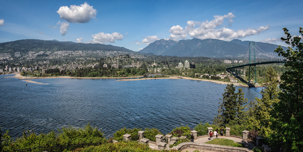 Prospect Point Lookout in Stanley Park (Vancouver BC, Canada)