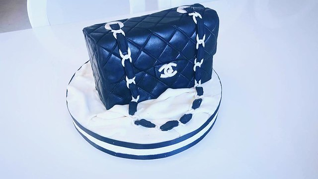 Chanel Bag Cake by Angel's cakes