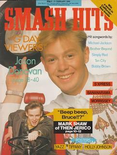 Smash Hits, February 08, 1989