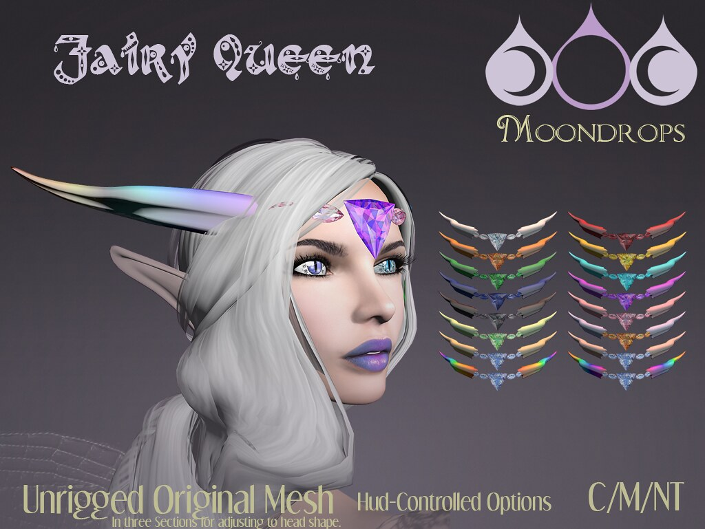 Moondrops - Fairy Queen - SecondLifeHub.com