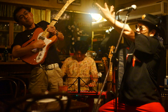 Blues live at Bright Brown, Tokyo, 16 Aug 2015. 353