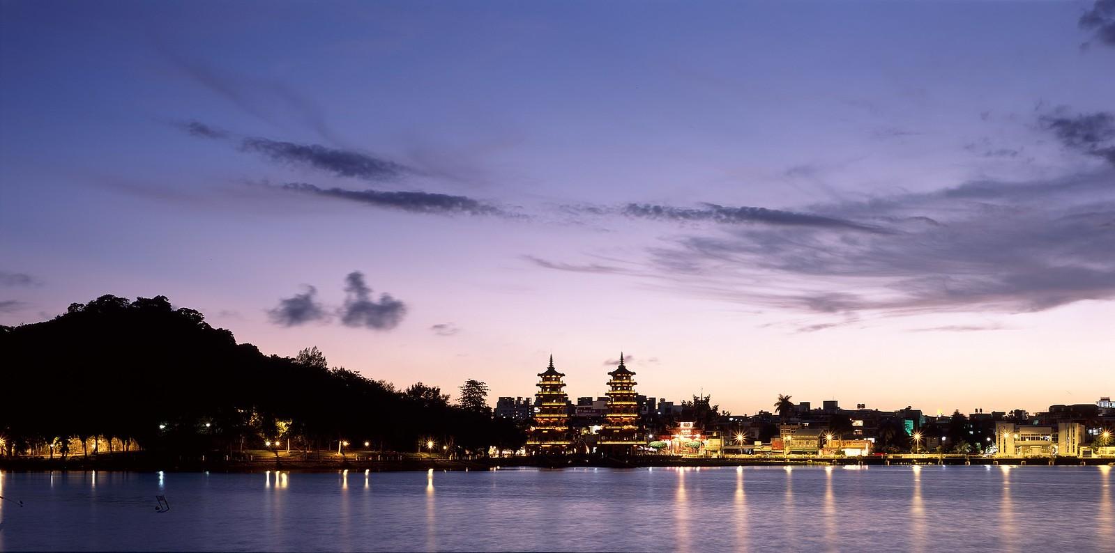 颱風後的(金龍山)日出