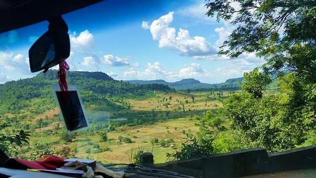 14. Explore lush green fields in Cambodia with Blue Osa Journeys