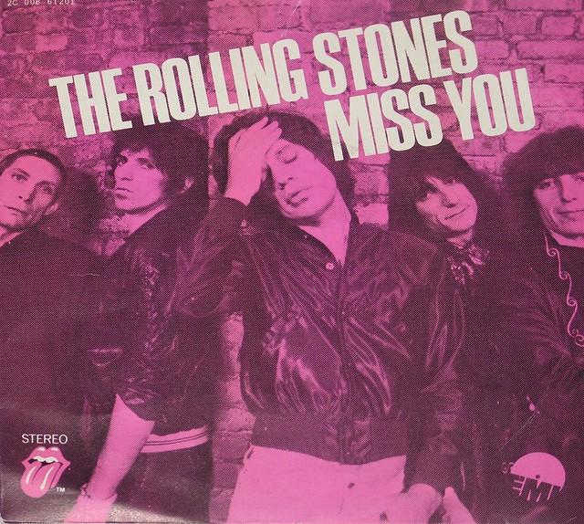"Rolling Stones Miss You / Far Away Eyes 7"" Single"