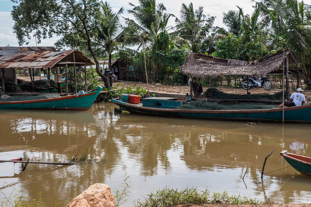 A quaint fishing villiage in Kampot, Budget Guide to Cambodia | Tips on how to do Cambodia on the cheap | How to travel Cambodia cheaply | Cambodia on a budget | 2 weeks in Cambodia