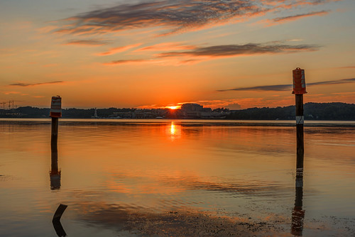 National Harbor Sunrise by Geoff Livingston