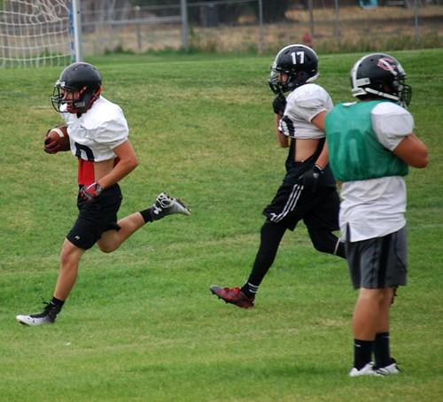 Football practice 11