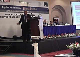 ILRI Pakistan Country Representative M.N.M. Ibrahim