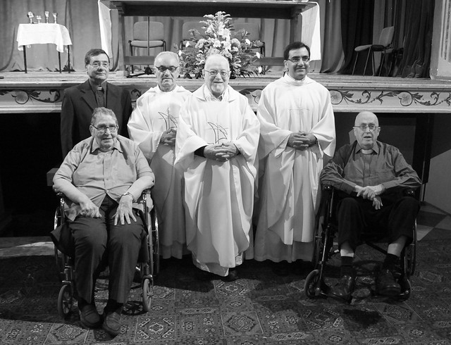 Eight Jesuits celebrate their Jubilee years