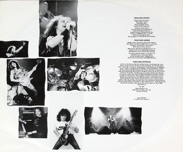 "DIO SACRED HEART GERMANY 12"" LP VINYL"