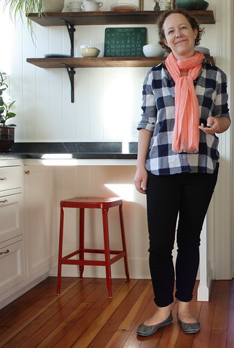 New Wardrobe: Plaid Shirt and Skinny Jeans