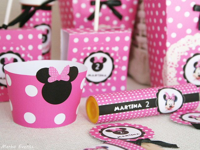KIT IMPRIMIBLE cumpleaños MINNIE BOUTIQUE merbo events