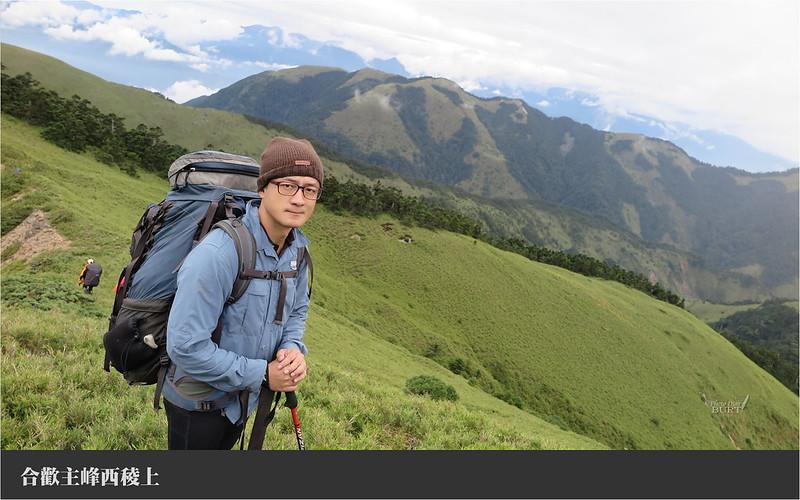 合歡主峰西稜上