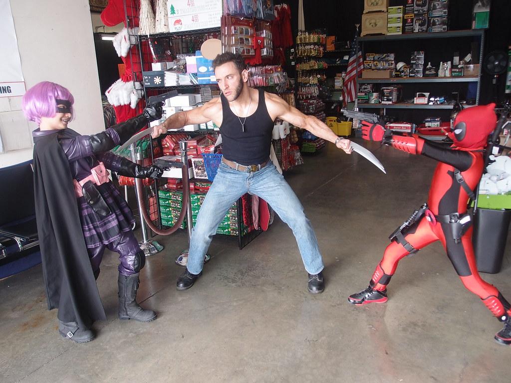 kickass vs deadpool