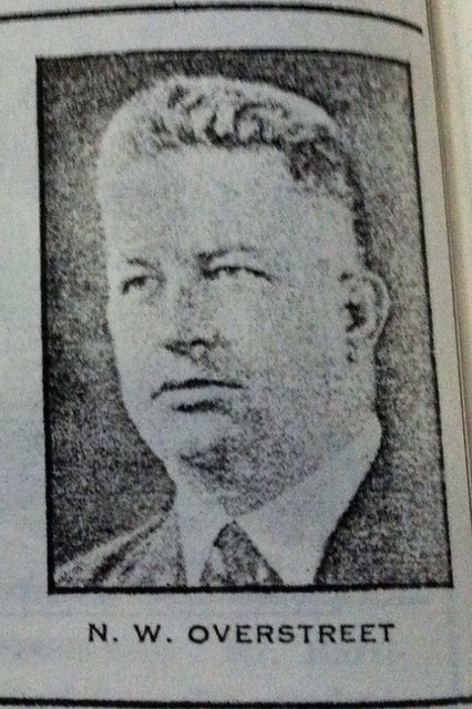 Noah Webster Overstreet c. 1928