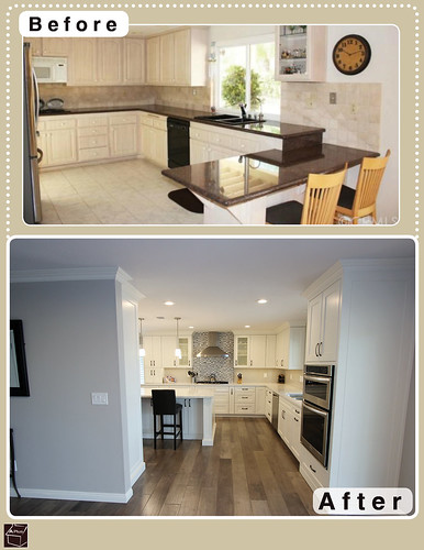 Yorba Linda Transitional Design Build Home & Kitchen Remodel